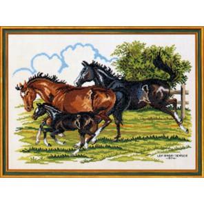 Лошади Набор для вышивания Eva Rosenstand 12-473