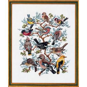 Птичий парад Набор для вышивания Eva Rosenstand 12-266