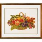 Букет цветов в корзине Набор для вышивания Eva Rosenstand 14-186