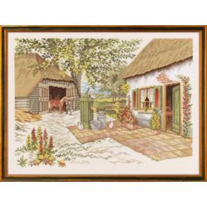 Лошадки на ферме Набор для вышивания Eva Rosenstand 14-219