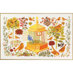 Соловей Набор для вышивания Eva Rosenstand 08-4569