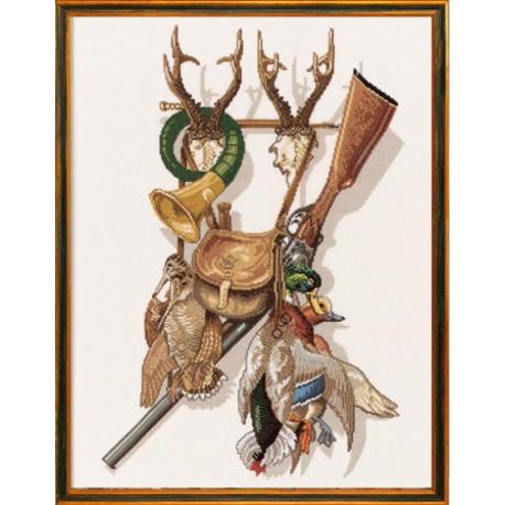 Гордость охотника Набор для вышивания Eva Rosenstand 12-279