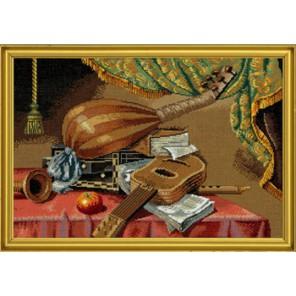 Музыкальные инструменты Набор для вышивания Eva Rosenstand 14-159