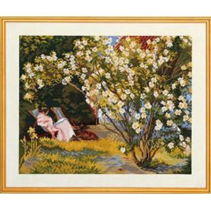 Розовый куст Набор для вышивания Eva Rosenstand 12-737
