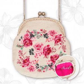 Розовая нежность Набор для вышивания Luca-S