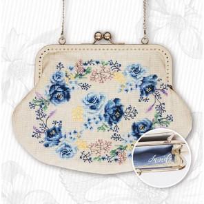Голубая нежность Набор для вышивания Luca-S