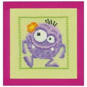 Фиолетовый Монстр Набор для вышивания Vervaco PN-0150595