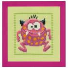 Розовый Монстр II Набор для вышивания Vervaco PN-0150594