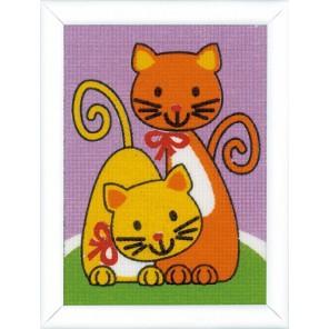Игривые Котята Набор для вышивания Vervaco PN-0155678