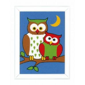 Ночные Совы Набор для вышивания Vervaco PN-0155677