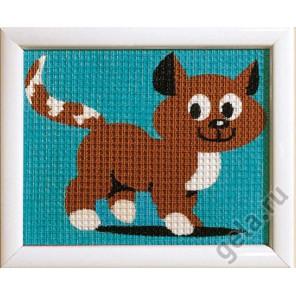 Котик Набор для вышивания Vervaco PN-0009573