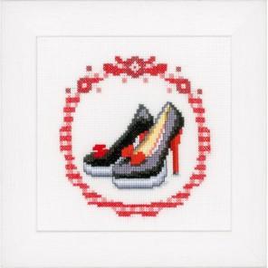 Черные туфли-лодочки Набор для вышивания Vervaco PN-0147020