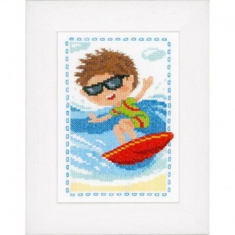 Сёрфингист Набор для вышивания Vervaco PN-0148711