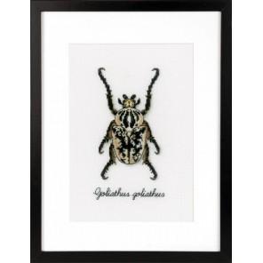 Бежевый жук Набор для вышивания Vervaco PN-0165400