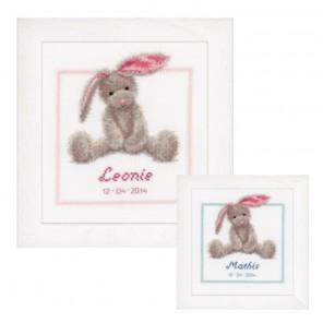 Симпатичный зайчик Набор для вышивания Vervaco PN-0144493