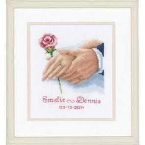 Рука в руке Набор для вышивания Vervaco PN-0011903