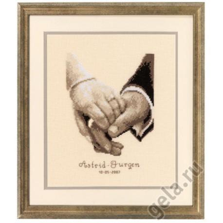 Супружеское счастье Набор для вышивания Vervaco PN-0011667