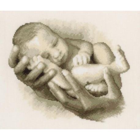 Мой малыш Набор для вышивания Vervaco PN-0145030