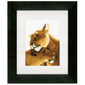 Львы Набор для вышивания Vervaco PN-0153805