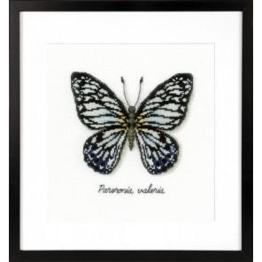 Голубая бабочка Набор для вышивания Vervaco PN-0165403