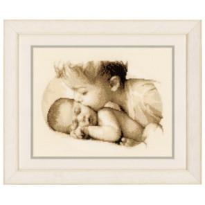 Братская любовь Набор для вышивания Vervaco PN-0150040