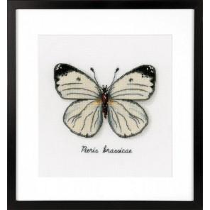 Белая бабочка Набор для вышивания Vervaco PN-0165233