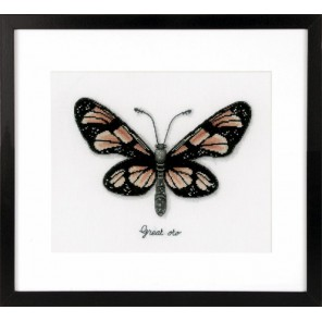 Оранжевая бабочка Набор для вышивания Vervaco PN-0165401