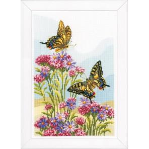 Бабочка-махаон Набор для вышивания Vervaco PN-0156329
