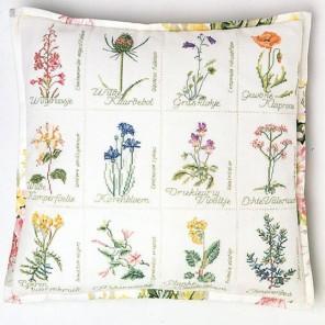 Полевые цветы канва Jobelan 27 ct Набор для вышивания Thea Gouverneur 2074