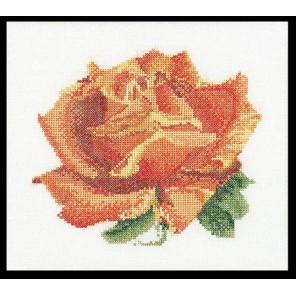 Красная роза Набор для вышивания Thea Gouverneur 3075A