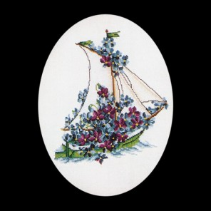Цветочная яхта Набор для вышивания Thea Gouverneur