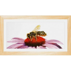 Пчела на эхинацее Набор для вышивания Thea Gouverneur 549A