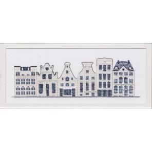 Дома в стиле Delft Blue Набор для вышивания Thea Gouverneur 552A