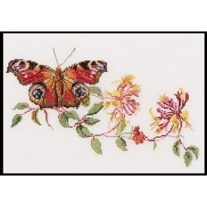 Бабочка-Жимолость Набор для вышивания Thea Gouverneur 439A