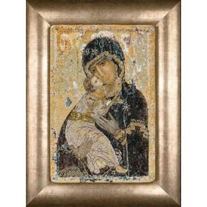 Владимирская икона Божией Матери Набор для вышивания Thea Gouverneur 531A
