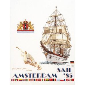 Парус 1985 Набор для вышивания Thea Gouverneur
