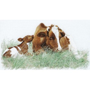 Рыжая корова Набор для вышивания Thea Gouverneur 449A