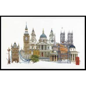 Лондон Набор для вышивания Thea Gouverneur 470A