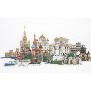 Москва Набор для вышивания Thea Gouverneur 510A