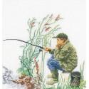 Лов рыбы Набор для вышивания Thea Gouverneur