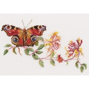 Бабочка-Жимолость Набор для вышивания Thea Gouverneur