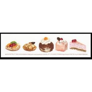 Пирожные в ассортименте Набор для вышивания Thea Gouverneur 3050