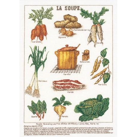 Суп Набор для вышивания Thea Gouverneur 3027