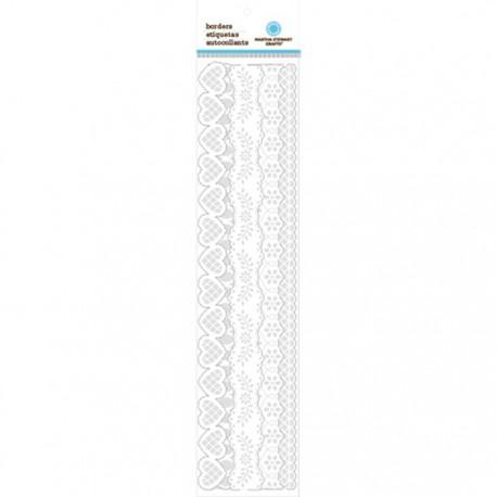 Белая калька Ленты бумажные для скрапбукинга, кардмейкинга  Martha Stewart Марта Стюарт