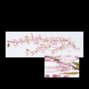 Ветка сакуры Набор для вышивания Thea Gouverneur 481
