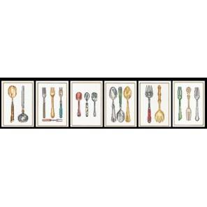 Столовые приборы Набор для вышивания Thea Gouverneur 3060