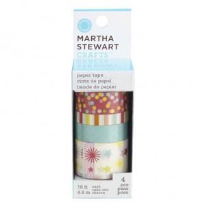 День рождения Набор бумажных лент для скрапбукинга, кардмейкинга Martha Stewart Марта Стюарт