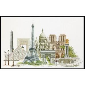 Париж Набор для вышивания Thea Gouverneur 472