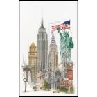 Нью-Йорк Набор для вышивания Thea Gouverneur 471