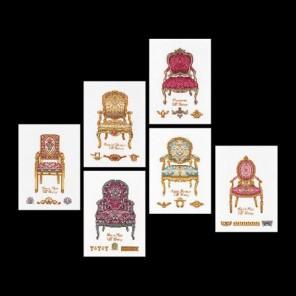 Шесть стульев Набор для вышивания Thea Gouverneur 3068